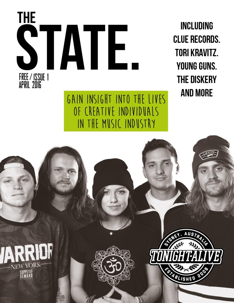 State Magazine (Alt Cover) pages first page